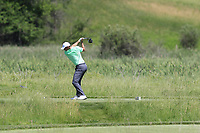 Rory McIlroy (NIR) tees off the 2nd tee to eagle the hole during Thursday's Round 1 of the 117th U.S. Open Championship 2017 held at Erin Hills, Erin, Wisconsin, USA. 15th June 2017.<br /> Picture: Eoin Clarke | Golffile<br /> <br /> <br /> All photos usage must carry mandatory copyright credit (&copy; Golffile | Eoin Clarke)