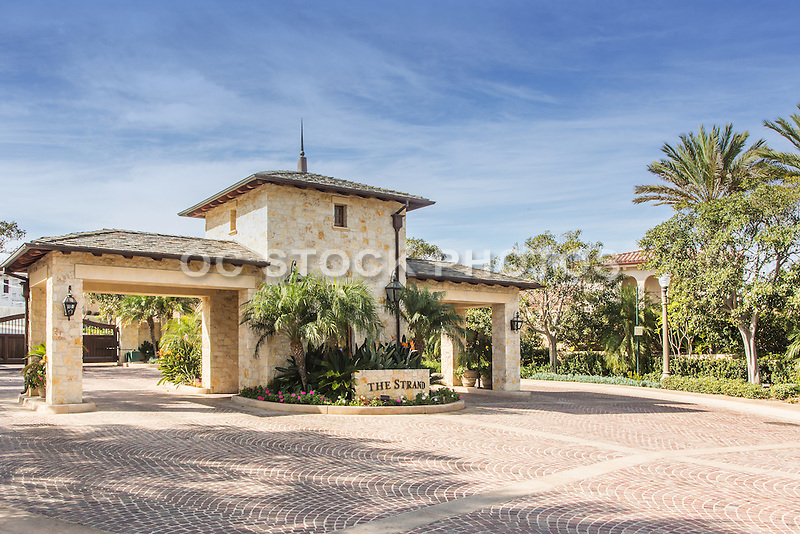 The Strand at Headlands Custom Ocean View Homes Guard Gate