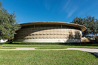 Thad Buckner Building designed by Frank Loyd Wright for Florida Southern College, Lakeland, Florida, USA