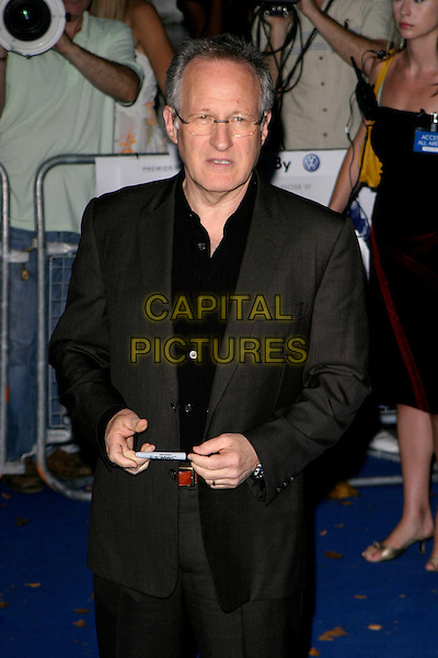 "MICHAEL MANN.""Miami Vice"" UK film premiere, Odeon Leicester Square, London UK..July 27th, 2006.Ref: AH.half length grey gray suit jacket.www.capitalpictures.com.sales@capitalpictures.com.©Adam Houghton/Capital Pictures."
