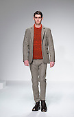 Monday, 7 January 2012. London, United Kingdom. Designer Lou Dalton's Autumn/Winter 2013 catwalk show collection at London Collections: Men. Menswear fashion event in London, United Kingdom. Photo credit: CatwalkFashion/Alamy Live News