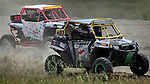 STURGIS, SD - JUNE 13: Cara Zindler #07 races Matt Russell in the UTV class during the Liberty Super stores/Dakota Customs 250 short course baja race at the Buffalo Chip.  (Photo by Dick Carlson/Inertia)