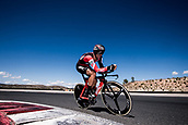 September 5th 2017, Circuito de Navarra, Spain; Cycling, Vuelta a Espana Stage 16, individual time trial; Francisco Ventoso