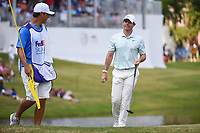 Rory McIlroy (NIR) reacts after sinking his par putt on 11 during round 4 of the WGC FedEx St. Jude Invitational, TPC Southwind, Memphis, Tennessee, USA. 7/28/2019.<br /> Picture Ken Murray / Golffile.ie<br /> <br /> All photo usage must carry mandatory copyright credit (© Golffile | Ken Murray)