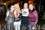 4 spices going back to the 90's in aid of the Kerry Branch of Cystic Fibrosis Ireland fundraiser in Benner's Hotel on Friday night. L to r: Ann Marie Earley (Scary), Amanda Whelan (Baby), Edele O'Sullivan (Sporty) and Carmel Spring (Posh).