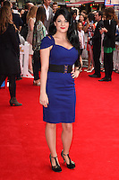 "Lucy Kay arriving for the premiere of ""Pudsey the Dog the movie"" at the Vue cinema, Leicester Square, London. 13/07/2014 Picture by: Steve Vas / Featureflash"