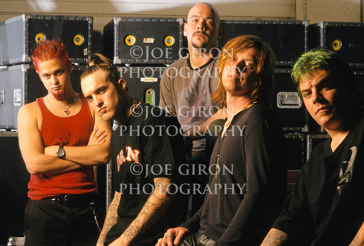 Various portrait sessions of the rock band, Full Devil Jacket.