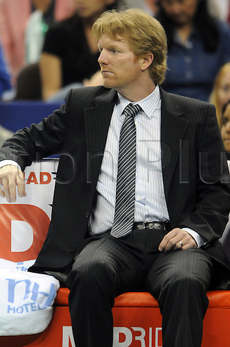 10.07.2011  US captain Jim Courier during Davis Cup at the Frank Erwin Center in Austin, TX.