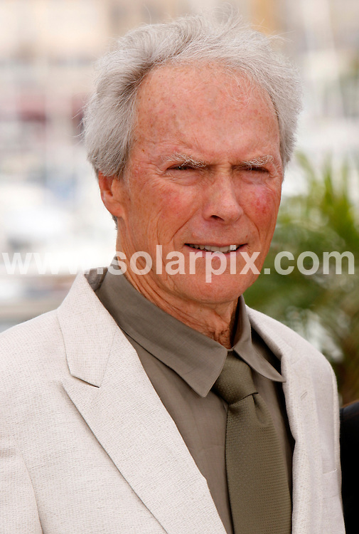 **ALL ROUND PICTURES FROM SOLARPIX.COM**.**SYNDICATION RIGHTS FOR UK AND SPAIN ONLY**.Clint Eastwood at the photocall to the film 'The Exchange' at the 61st Cannes Film Festival in Cannes, France..JOB REF:  6472   CPR / Hans Heinz      DATE: 21.05.08.**MUST CREDIT SOLARPIX.COM OR DOUBLE FEE WILL BE CHARGED* *UNDER NO CIRCUMSTANCES IS THIS IMAGE TO BE REPRODUCED FOR ANY ONLINE EDITION WITHOUT PRIOR PERMISSION*
