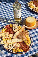 cheese, bisquits and wine herdade de sao miguel alentejo portugal