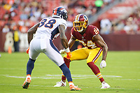 Landover, MD - August 24, 2018: Washington Redskins defensive back Josh Norman (24) in action during the preseason game between Denver Broncos and Washington Redskins at FedEx Field in Landover, MD.   (Photo by Elliott Brown/Media Images International)