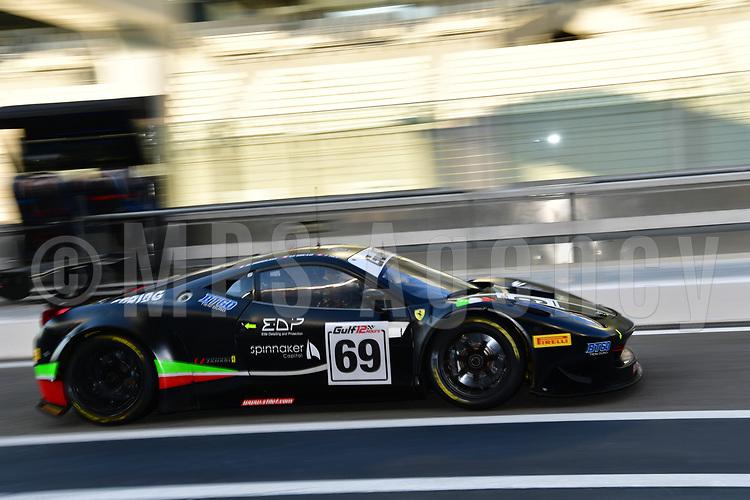 #69 STILE F SQUADRA CORSE FERRARI 458 GT3 AM MARTIN GRAB (CHE) JONATHAN HUI (PRC) DIRK DIGGLER (CHE)