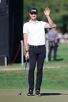 Sebastian Heisele (GER) during the 2nd round of the Abu Dhabi HSBC Championship, Abu Dhabi Golf Club, Abu Dhabi,  United Arab Emirates. 17/01/2020<br /> Picture: Fran Caffrey   Golffile<br /> <br /> <br /> All photo usage must carry mandatory copyright credit (© Golffile   Fran Caffrey)