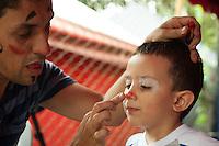 MEDELLIN -COLOMBIA. 25-08-2013. Variete Infantil_Circo Medellín durante la Fiesta de las Artes Escenicas en la ciudad de Medellin. Photo: VizzorImage / Str
