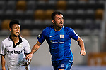 Lucas da Silva SC Kitchee (R) in action during the week two Premier League match between Kitchee and Dreams FC at on September 10, 2017 in Hong Kong, China. Photo by Marcio Rodrigo Machado / Power Sport Images