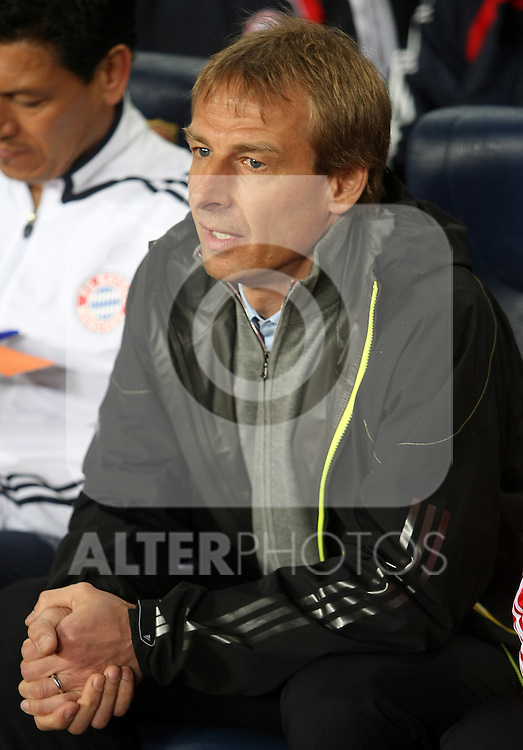 Bayern Munchen's coach Jurgen Klismann during the UEFA Champiosn League match.April 8 2009. (ALTERPHOTOS/Acero).