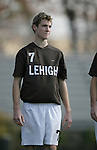 Lehigh's Adam Welch on Sunday, November 19th, 2006 at Koskinen Stadium in Durham, North Carolina. The Duke Blue Devils defeated the Lehigh University Mountain Hawks 3-0 in an NCAA Division I Men's Soccer Championship third round game.