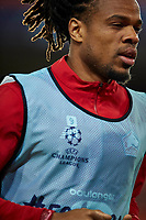 5th November 2019; Mestalla, Valencia, Spain; UEFA Champions League Football,Valencia versus Lille; Loic Remy of Lille warms up prior to the game - Editorial Use