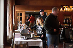 Breakfast buffet  at The Mountain Top Inn and Resort near Kilington, Vermont