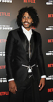 NEW YORK, NY-August 11:  Daveed Diggs  at NETFLIX presents the New York premiere of The Get Down at Lehman Center for the Performing Arts in Bronx .NY. August 11, 2016. Credit:RW/MediaPunch