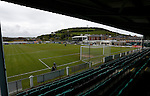 Aberystwyth Town 1 Newtown 2, 17/05/2015. Park Avenue, Europa League Play Off final. General view of Park Avenue. Aberystwyth finished 14 points above Newtown in the Welsh Premier League, but were beaten 1-2 in the Play Off Final. Photo by Paul Thompson.
