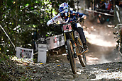 10th September 2017, Smithfield Forest, Cairns, Australia; UCI Mountain Bike World Championships; Tahnee Seagrave (GBR) riding for Transition Bikes / FMD Factory Racing during the elite womens downhill race;
