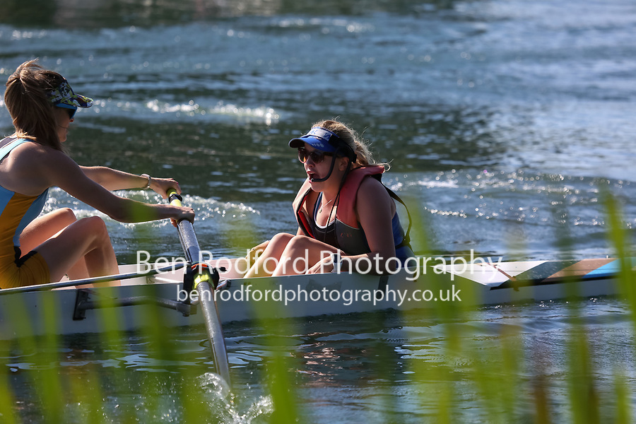 Race: 35: W Tier2 4+  Heat 3<br /> <br /> Peterborough Summer Regatta 2017 - Sunday<br /> <br /> To purchase this photo, or to see pricing information for Prints and Downloads, click the blue 'Add to Cart' button at the top-right of the page.