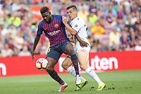 2018.09.02 La Liga FC Barcelona VS SD Huesca