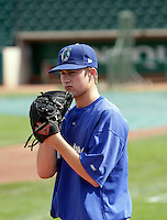 Brett Wallach - Ogden Raptors (2009 Pioneer League)..Photo by:  Bill Mitchell/Four Seam Images..