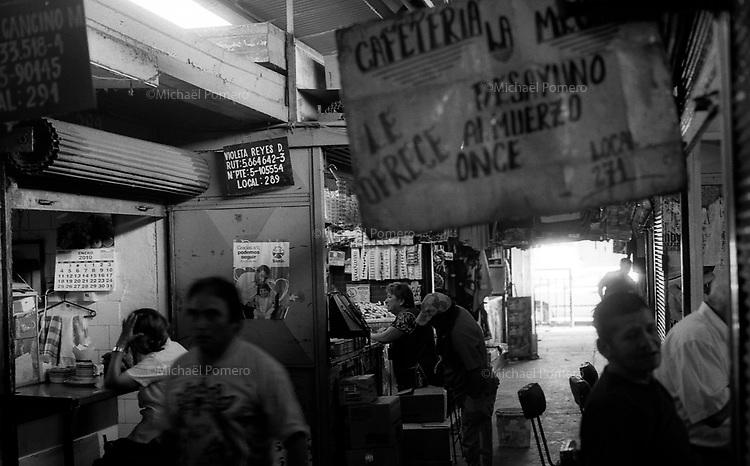 01.2010 Santiago de chile (Chile)<br /> <br /> March&eacute; la vega.<br /> <br /> La vega market.