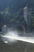 Europe/France/Midi-Pyrénées/46/Lot/Vallée du Lot/Cahors: Pont Valentré
