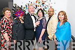 Kay Kavim, Sheila Mc Gillycuddy, Louise Keary, Liz Keane, Binu Nair, Kay Hayes all from Kerry General Hospital- Cardiology Services at the Fire and Ice Mascarade Ball in Jack's Coastguard Restaurant, Cromane last Friday night.