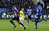 Blackburn Rovers' Craig Conway scores his side's first goal  <br /> <br /> Photographer David Shipman/CameraSport<br /> <br /> The EFL Sky Bet Championship - Sheffield Wednesday v Blackburn Rovers - Saturday 16th March 2019 - Hillsborough - Sheffield<br /> <br /> World Copyright &copy; 2019 CameraSport. All rights reserved. 43 Linden Ave. Countesthorpe. Leicester. England. LE8 5PG - Tel: +44 (0) 116 277 4147 - admin@camerasport.com - www.camerasport.com