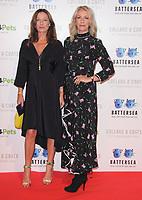 Keren Woodward and Sara Dallin at the Collars &amp; Coats Gala Ball 2018 at Battersea Evolution, Battersea Park, London on Thursday 1st November 2018<br /> CAP/JIL<br /> &copy;JIL/Capital Pictures