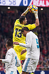 Real Madrid Kiko Casilla during La Liga match between Atletico de Madrid and Real Madrid at Wanda Metropolitano in Madrid, Spain. November 18, 2017. (ALTERPHOTOS/Borja B.Hojas)
