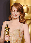89th Annual Academy Awards - Press Room 2-26-17