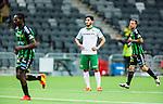 Stockholm 2014-06-18 Fotboll Superettan Hammarby IF - GAIS :  <br /> Hammarbys Nahir Besara deppar<br /> (Foto: Kenta J&ouml;nsson) Nyckelord:  Superettan Tele2 Arena Hammarby HIF Bajen GAIS depp besviken besvikelse sorg ledsen deppig nedst&auml;md uppgiven sad disappointment disappointed dejected