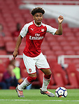 Arsenal's Reiss Nelson in action during the premier league 2 match at the Emirates Stadium, London. Picture date 21st August 2017. Picture credit should read: David Klein/Sportimage