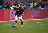 21 November 2010: Colorado Rapids forward Omar Cummings #14 in action during the 2010 MLS CUP between the Colorado Rapids and FC Dallas at BMO Field in Toronto, Ontario Canada..The Colorado Rapids won 2-1 in extra time....