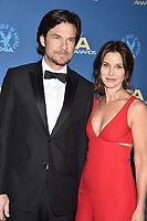 HOLLYWOOD, CA - FEBRUARY 02: Jason Bateman (L) and Amanda Anka attend the 71st Annual Directors Guild Of America Awards at The Ray Dolby Ballroom at Hollywood &amp; Highland Center on February 02, 2019 in Hollywood, California.<br /> CAP/ROT/TM<br /> &copy;TM/ROT/Capital Pictures