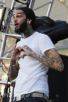 05/12/12 Carson, CA : Travie McCoy and Gym Class Heroes perform during KISS FM's Wango Tango concert held at the Home Depot Center