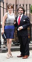 June 30, 2012 Tina Fey, Jeff Richmond attend the Alec Baldwin and Hilaria Thomas Wedding Day at Basilica of St. Patrick's Old Cathedral in Little Italy in New York City.Credit:© RW/MediaPunch Inc. /*NORTEPHOTO.COM*<br /> *SOLO*VENTA*EN*MEXiCO* *CREDITO*OBLIGATORIO** *No*Venta*A*Terceros* *No*Sale*So*third* ***No Se*Permite*Hacer*Archivo** *No*Sale*So*third*©Imagenes con derechos de autor,©todos reservados. El uso de las imagenes está sujeta de pago a nortephoto.com El uso no autorizado de esta imagen en cualquier materia está sujeta a una pena de tasa de 2 veces a la normal. Para más información: nortephoto@gmail.com* nortephoto.com.