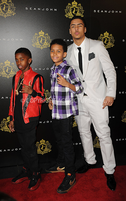 WWW.ACEPIXS.COM . . . . . ....January 23 2010, New York City....Christian Combs, Niko Brim and Quincy Jones Brown attends Justin Combs' 16th birthday party at M2 Ultra Lounge on January 23, 2010 in New York City.....Please byline: KRISTIN CALLAHAN - ACEPIXS.COM.. . . . . . ..Ace Pictures, Inc:  ..tel: (212) 243 8787 or (646) 769 0430..e-mail: info@acepixs.com..web: http://www.acepixs.com