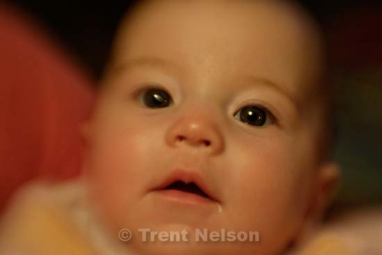 Elena Zambrano, Nathaniel's baptism day<br />