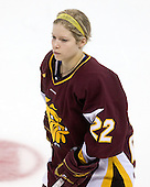 Sarah Murray (Minnesota-Duluth - 22) - The University of Minnesota-Duluth Bulldogs defeated the Boston College Eagles 3-0 on Friday, November 27, 2009, at Conte Forum in Chestnut Hill, Massachusetts.