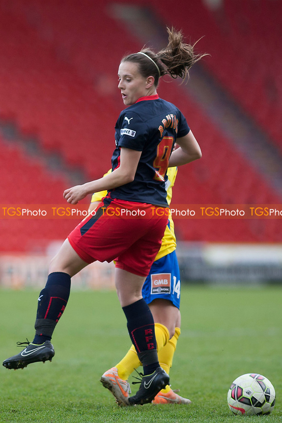 goalscorer Lauren Bruton (Reading)<br />  - Doncaster Rovers Belles vs Reading Women - FA Womens Super League 2 Football at the Keepmoat Stadium, Doncaster Rovers FC - 16/05/15 - MANDATORY CREDIT: Mark Hodsman/TGSPHOTO - Self billing applies where appropriate - contact@tgsphoto.co.uk - NO UNPAID USE