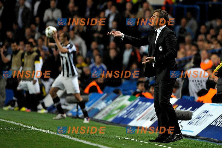 Massimo Carrera Juventus.Londra 19/9/2012 Stadio Stamford Bridge.Football Calcio Champions League 2012/2013.Chelsea Vs Juventus.Foto Federico Tardito Insidefoto.