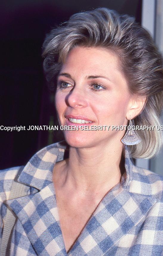 Lindsay Wagner 1987 by Jonathan Green