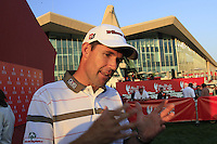 Padraig Harrington (IRL) after his match during Thursday's Round 1 of the HSBC Golf Championship at the Abu Dhabi Golf Club, United Arab Emirates, 26th January 2012 (Photo Eoin Clarke/www.golffile.ie)