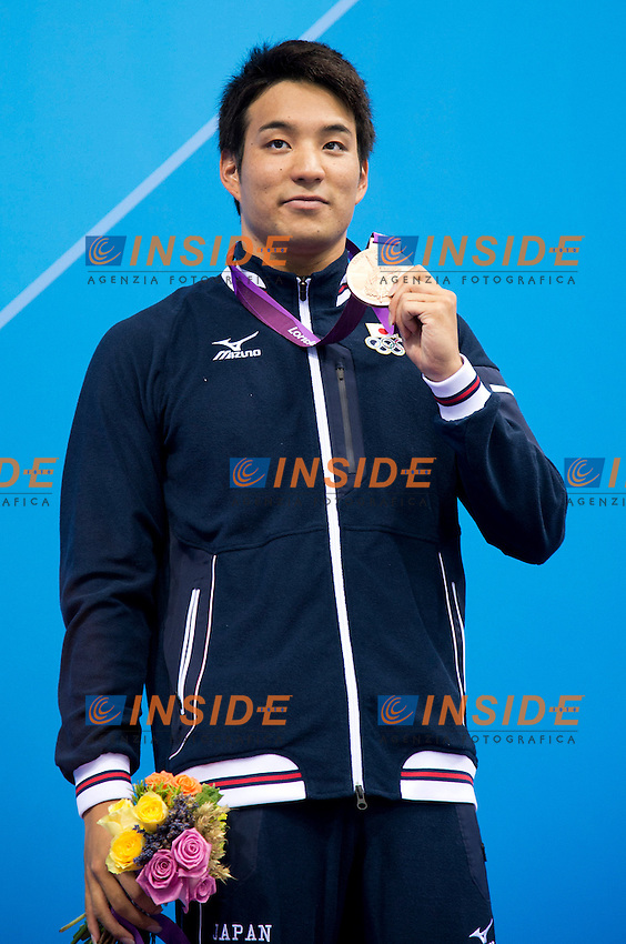 TATEISHI Ryo Japan (bronze medal).men 200 Breaststroke.swimming finals.London 2012 Olympics - Olimpiadi Londra 2012.day 06 August 1.Photo G.Scala/Deepbluemedia.eu/Insidefoto